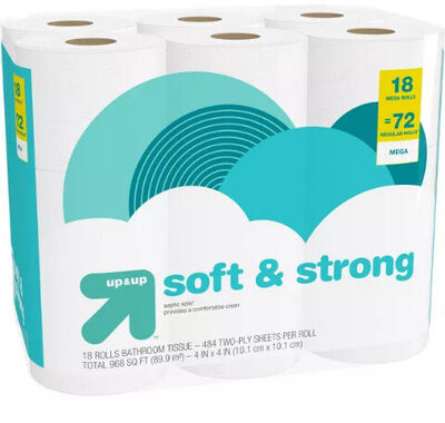 Soft and strong toilet paper - Product - en