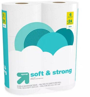Soft & strong toilet paper - Mega Rolls - Product - en