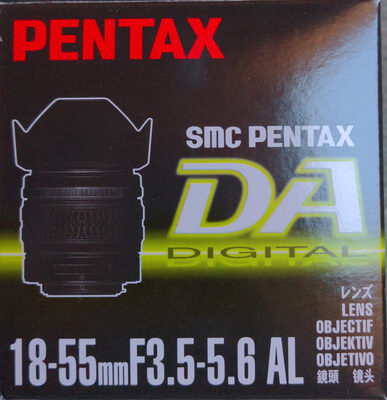18-55mmF3.5-5.6 AL - Product - en