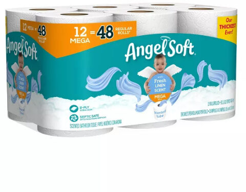 Fresh linen scent - MEGA ROLL - Product - en
