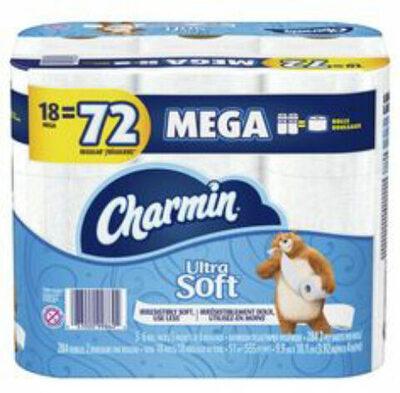 Ultra soft mega rolls toilet paper - Product - en