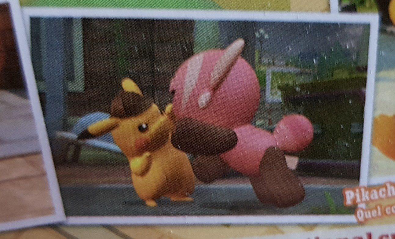Detective Pikachu - Ingrédients