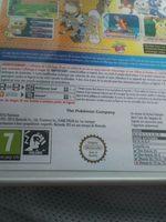 Jeu Nintendo 3DS - Pokémon Soleil - Ingredients
