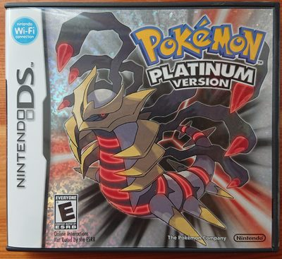 Pokémon Platinum Version - Product