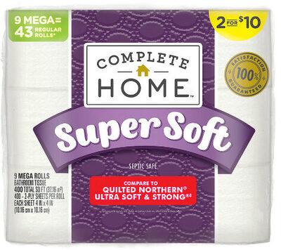bath tissue - septic safe - mega rolls - Product - en