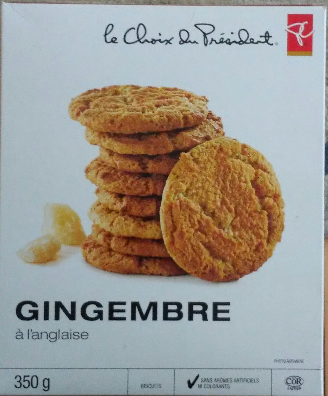 Gingembre à l'anglaise - Product - fr