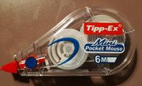 Correcteur Tipp-Ex Mini Pocket Mouse 6MMX5M - Bic - Product
