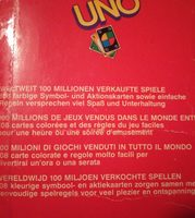 Uno - Ingredients