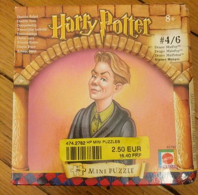 Harry Potter mini puzzles - Product