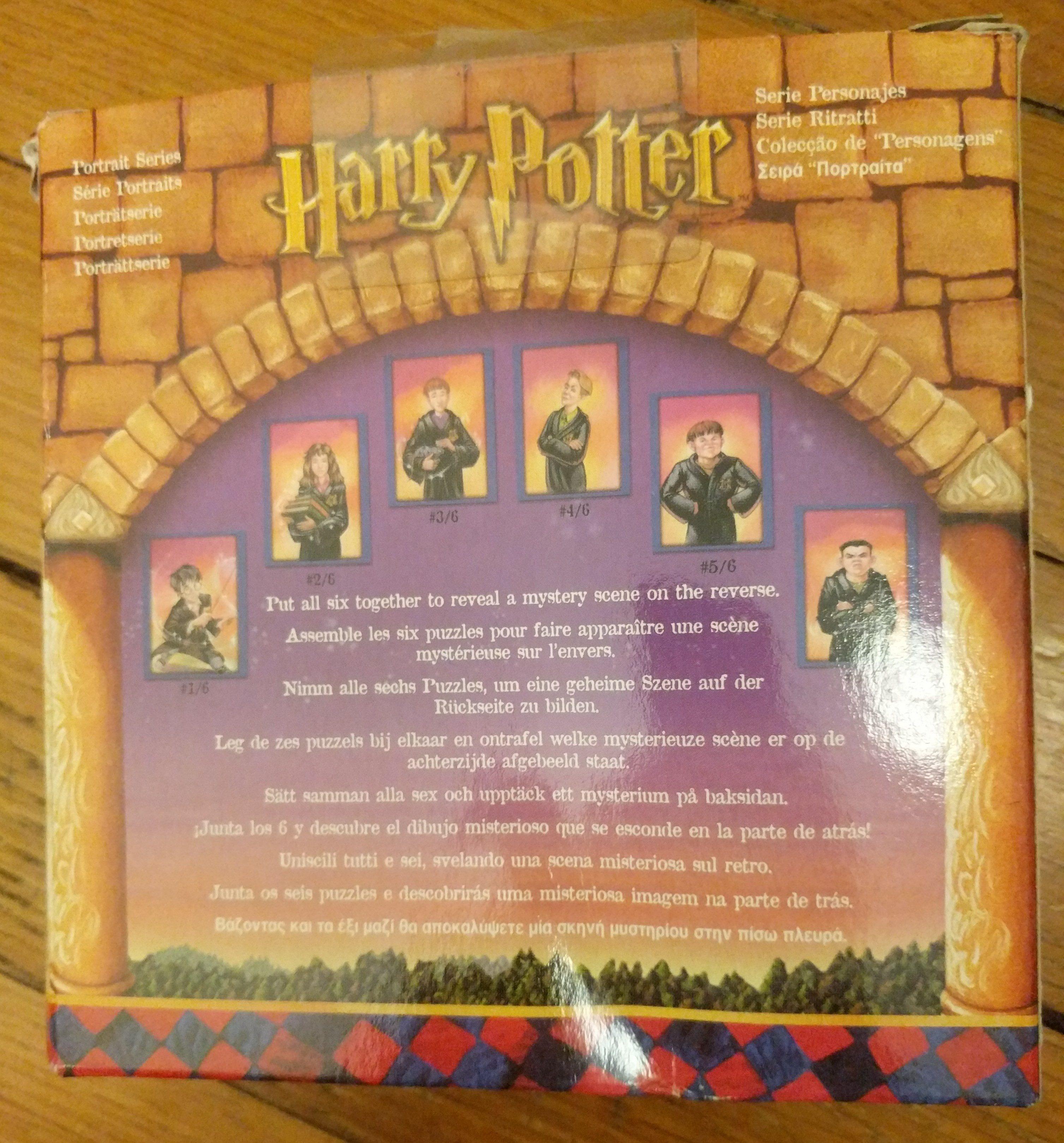 Harry Potter mini puzzles - Ingrédients - en