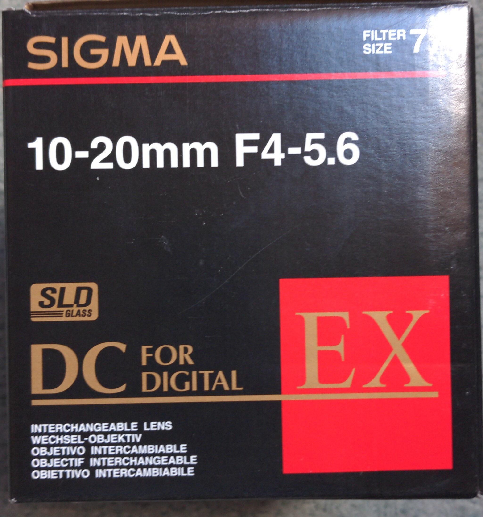 10-20mm F4-5.6 - Product - en