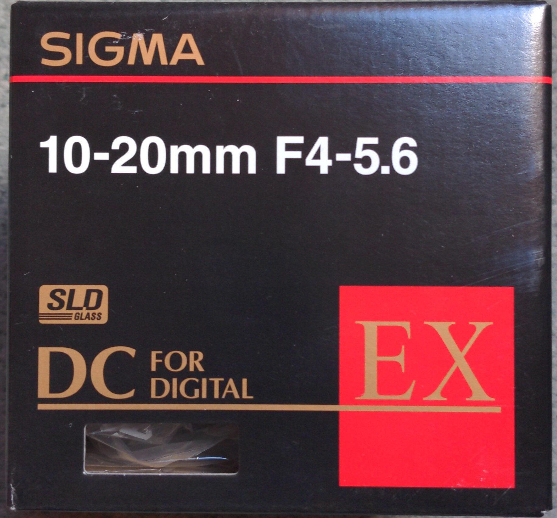 10-20mm F4-5.6 - Produit - fr