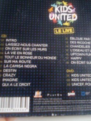 Kids United: Le Live - Ingredients - fr