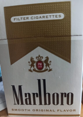Malboro cigarette gold pack - Product