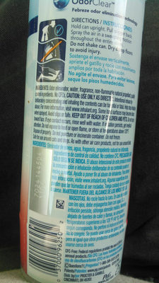 febreze - Ingredients
