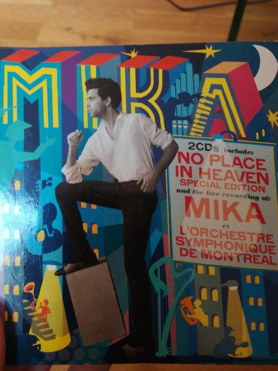 CD Mika - Produit