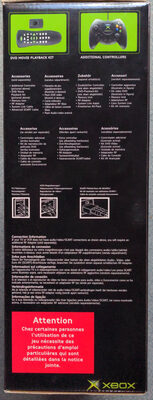 Xbox - Ingredients - fr