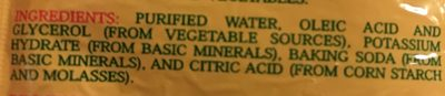 Fuity Wipes - Ingredients