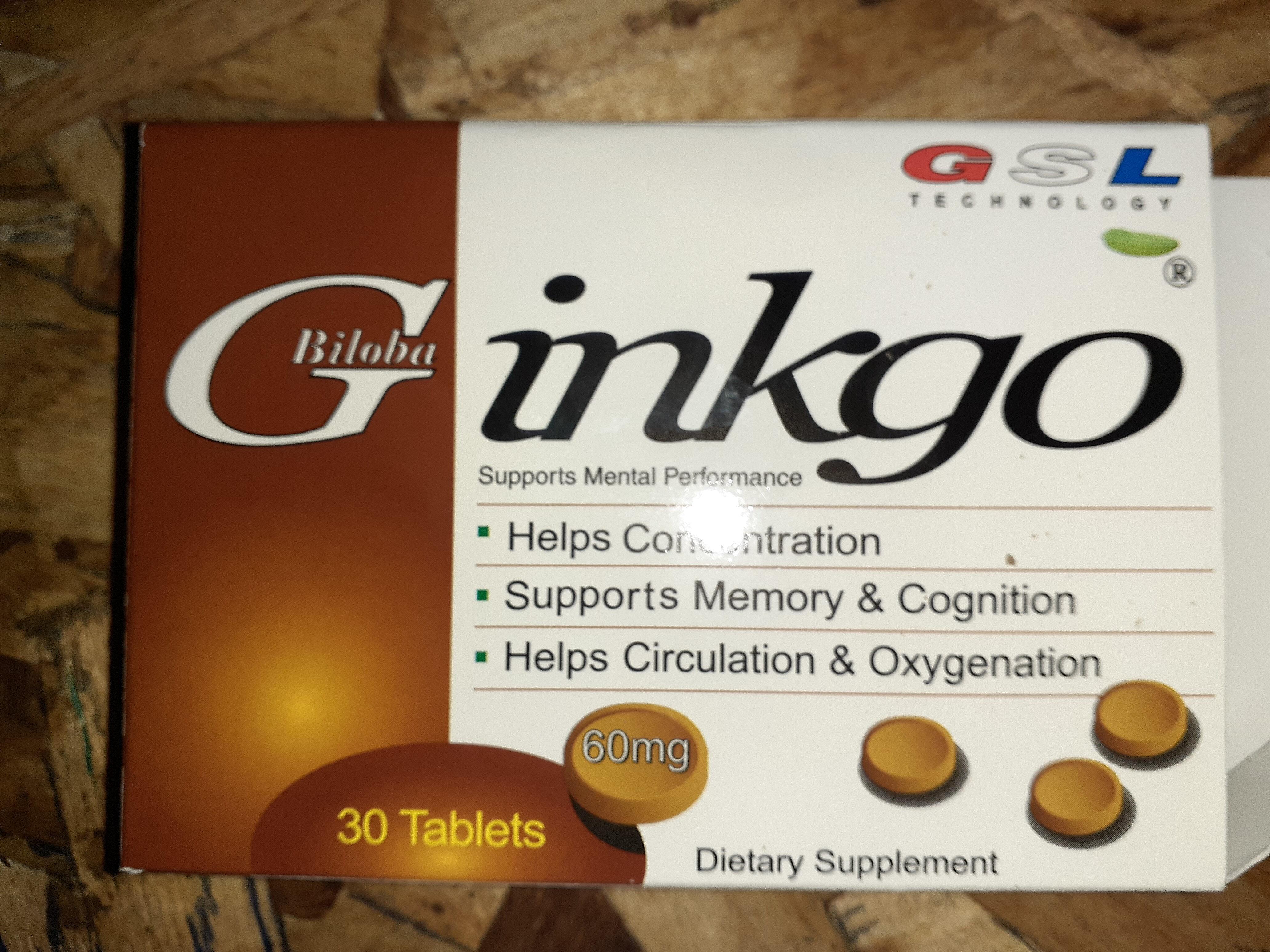 Gingko Biloba - Product - en