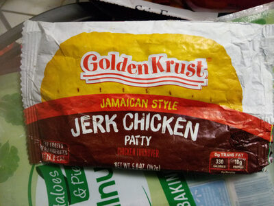 Jamaican style JERK CHICKEN PATTY - Product - en