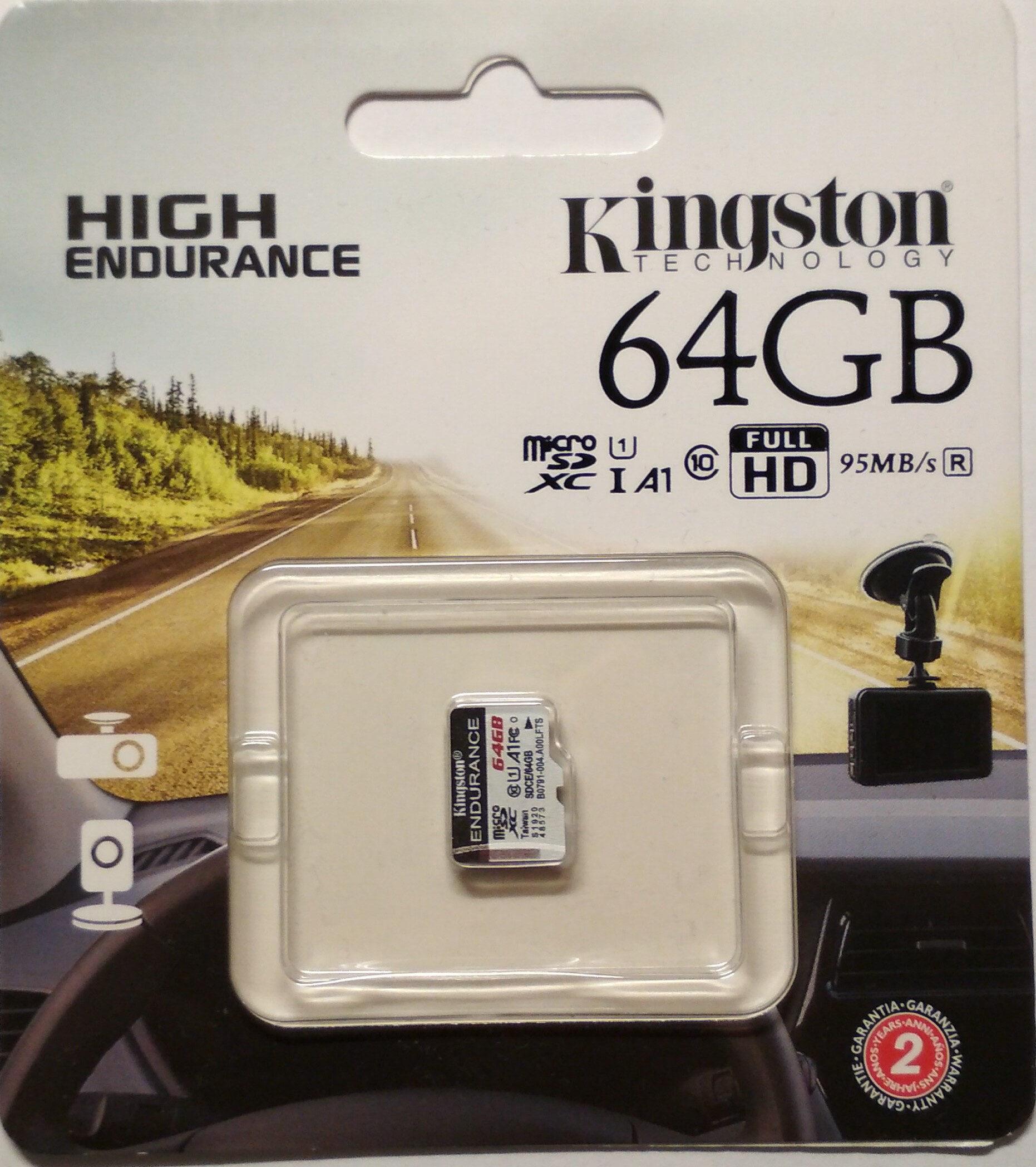 High Endurance 64GB MicroSD - Product