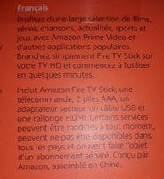 Amazon fire tv stick - Ingredients