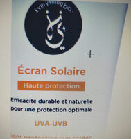 écran solaire everything bio - Product - fr
