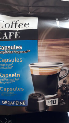 capsules decafeine - Product - fr
