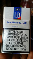 LAMBERT&BUTLER - Product