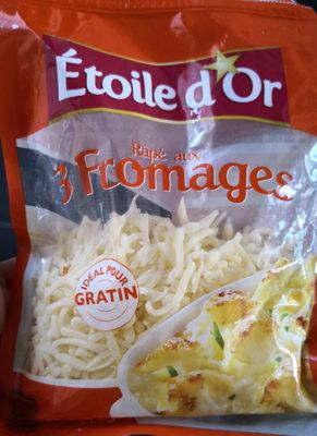 râpé aux 3 fromages - Product