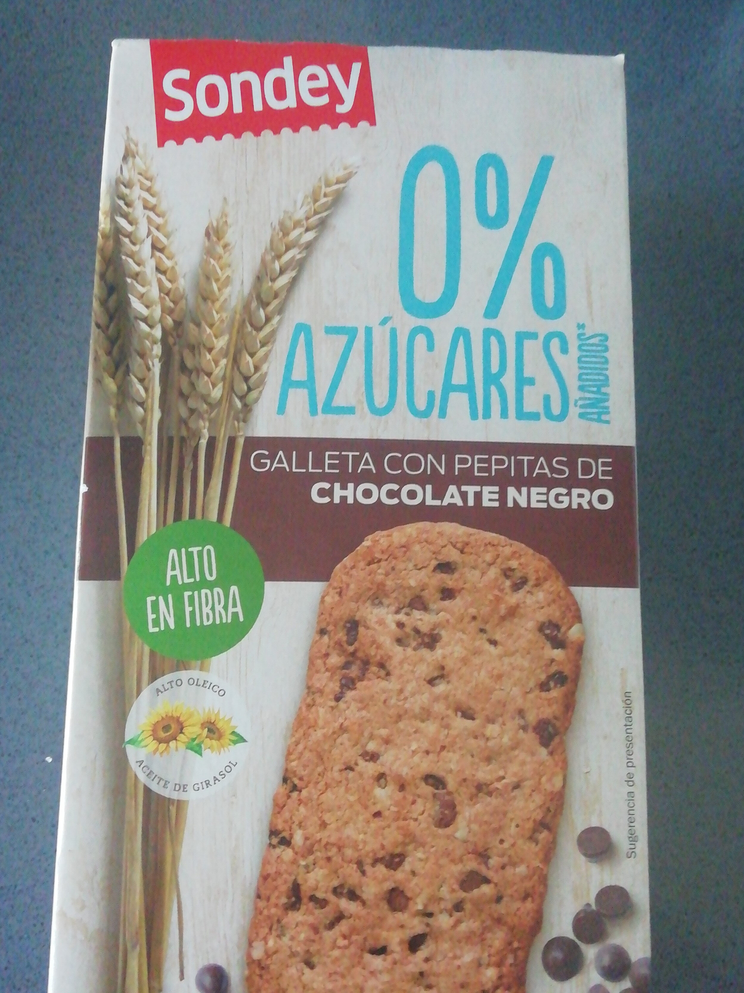 galleta con pepitas de chocolate negro - Product
