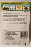 Laitue Batavia Dorée de Printemps - Ingredients - en
