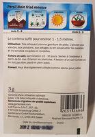 Persil Nain frisé mousse - Ingredients - en