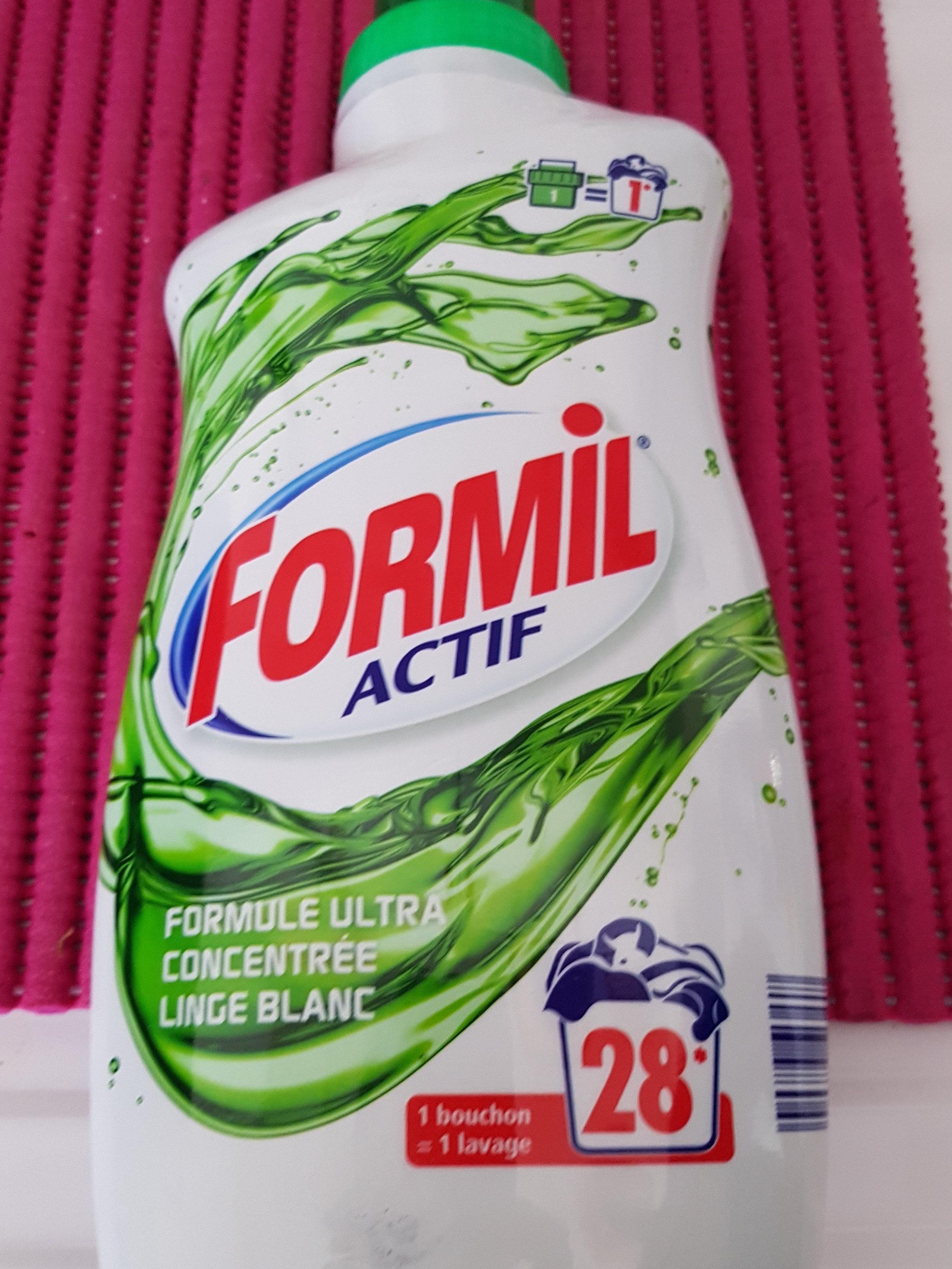formil actif - Ingrédients