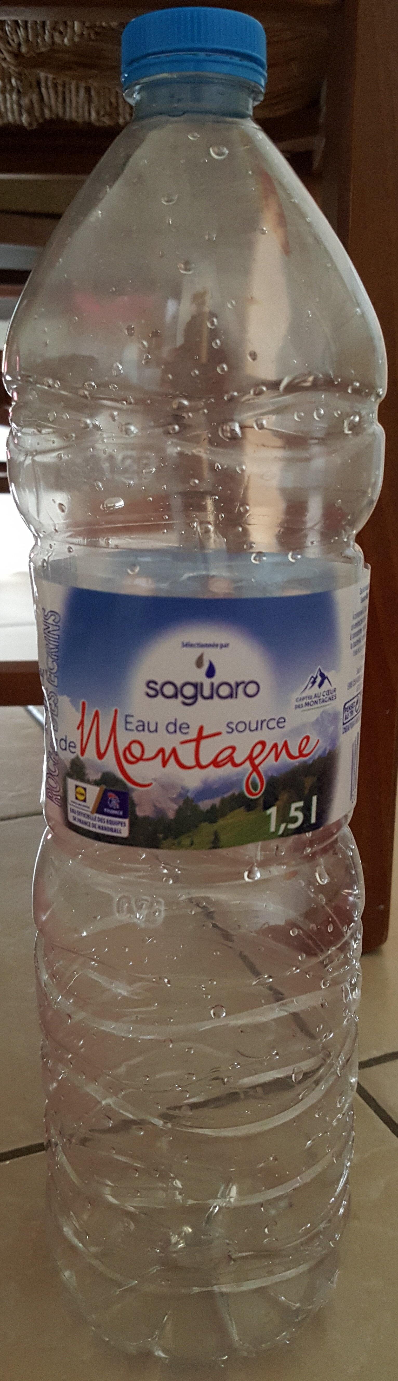 eau de source de montagne - Product