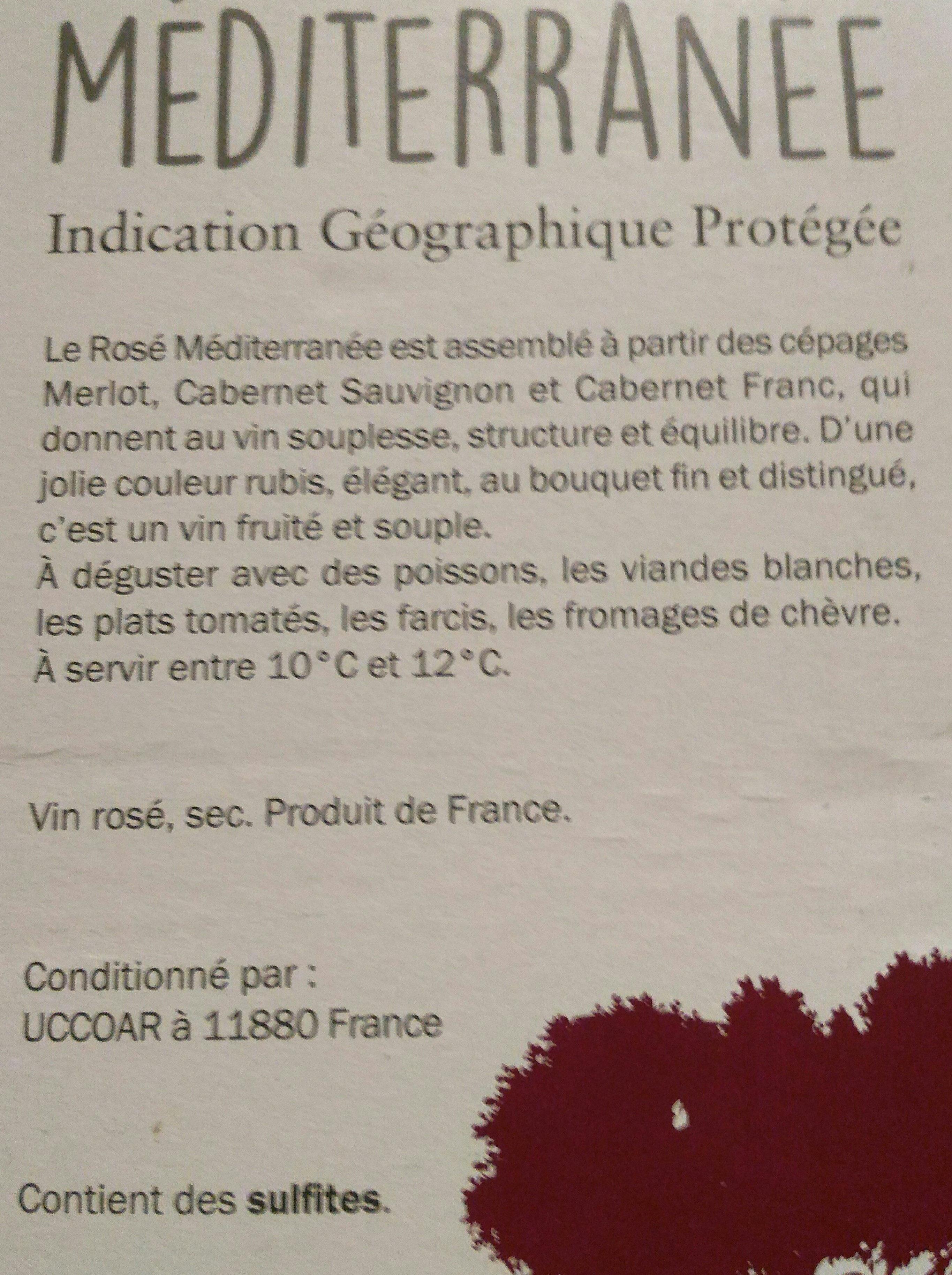 méditerranée - Ingredients - fr
