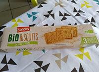 Bio biscuits epeautre et sesame - Ingrédients - fr