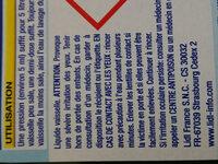 Liquide vaisselle - Ingredients