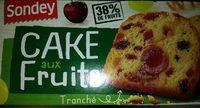 cake aux fruits - Produit