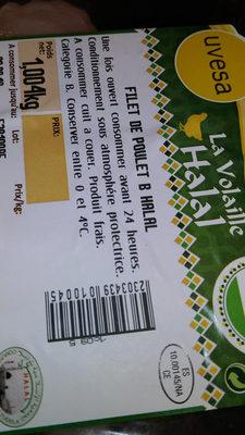 Filets de poulet halal - Product - es