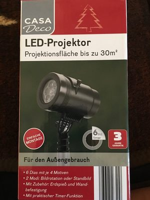 Casa Deco - LED Projektor - Product
