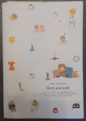 Oliver & friends Notebook - Product - fr