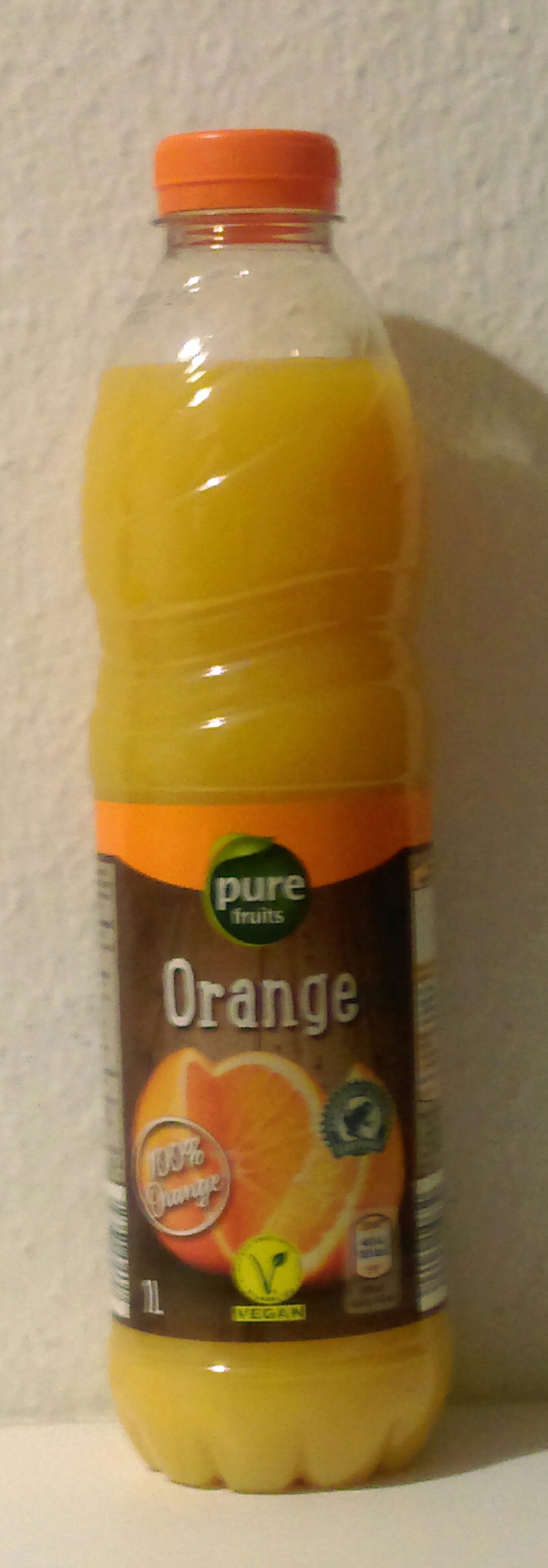 Orangensaft Pure Fruits Hofer - Product - de