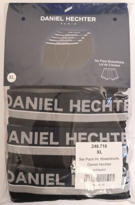 Daniel Hechter Boxershorts, schwarz, 5er Pack - Product