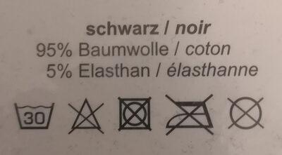 Daniel Hechter Boxershorts, schwarz, 5er Pack - Ingredients - de
