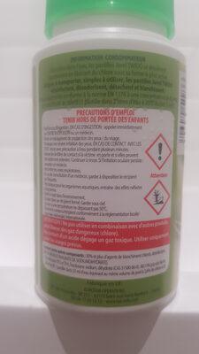 pastilles javel effervescentes - Ingredients - fr