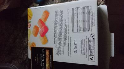 pâte de fruits - Product - fr