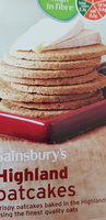 highland oatcakes - Product - en