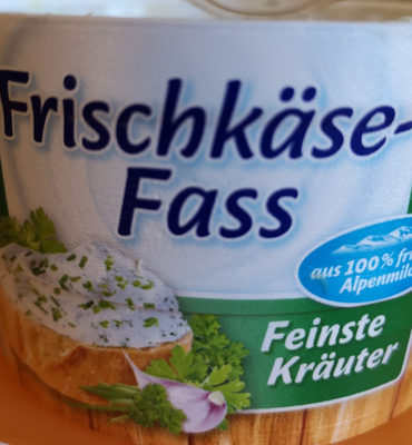 Frischkäse Fass Feinste Kräuter - Product