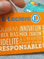 Carte leclerc - Product - fr